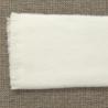 Manta lisa blanca personalizable