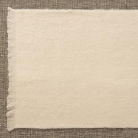 Manta lisa beige personalizable